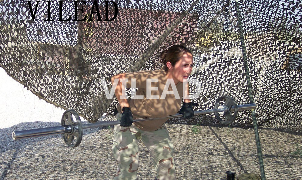 VILEAD 2.5M x 5M (8FT x 16.5FT) Desert Digital Camo Netting Military Army Camouflage Net Jungle Shelter for Hunting Camping Tent vilead 7m desert camouflage net camo net for beach shade canopy tarp camping canopy tent party decoration bar decoration