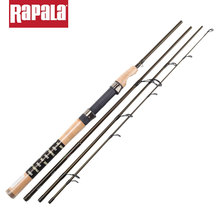 Rapala Brand Magnum 4 Sections M Power 1.98M 2.1M Carbon Fiber Fishing Spinning Rod Baitcasting Lure Fishing Stick with Rod Bag