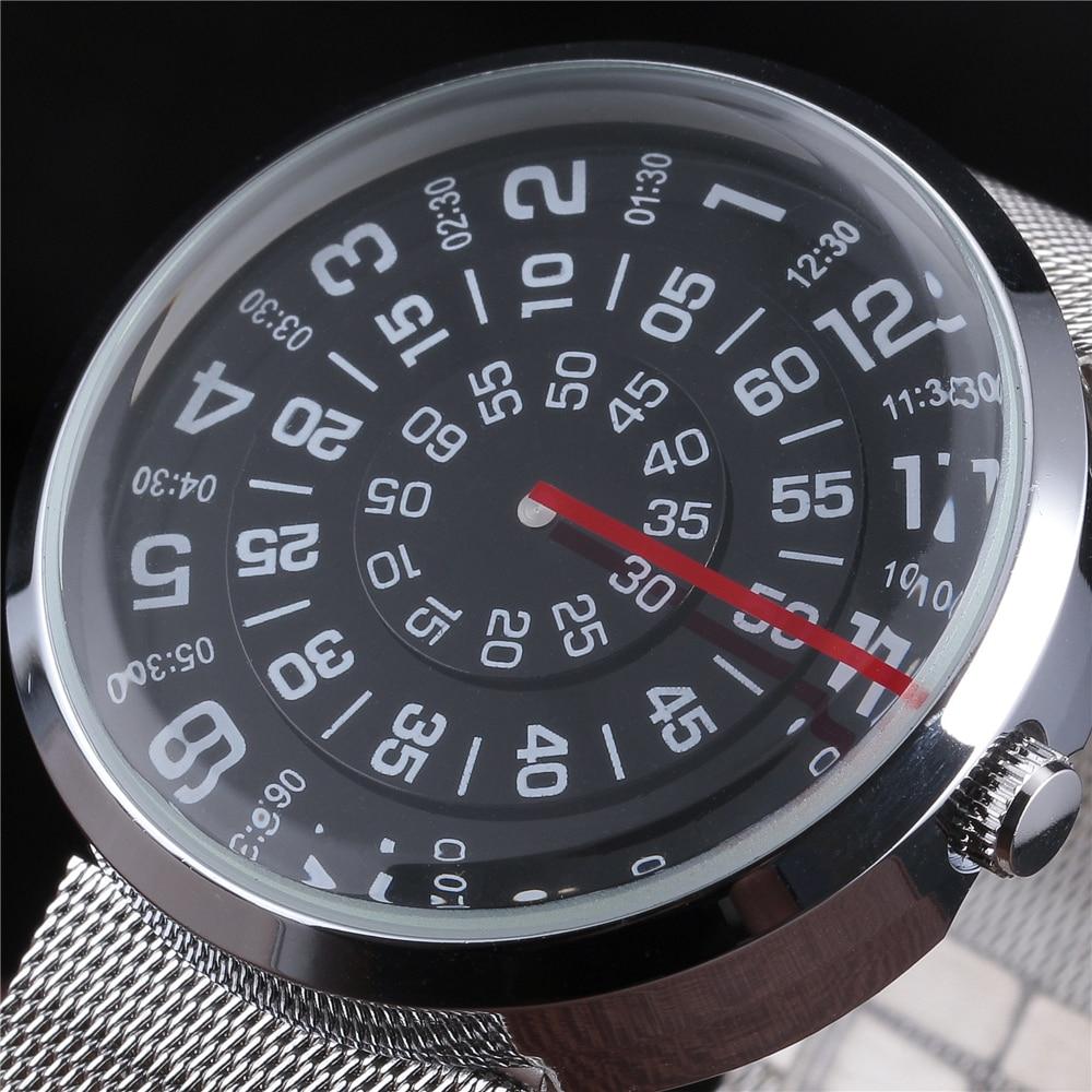 Fashion New Unisex Watches Men Top Luxury Brand Creative Rotary Time Design Quartz Watch Women Cool Sports Clock Case Relojes цена 2016