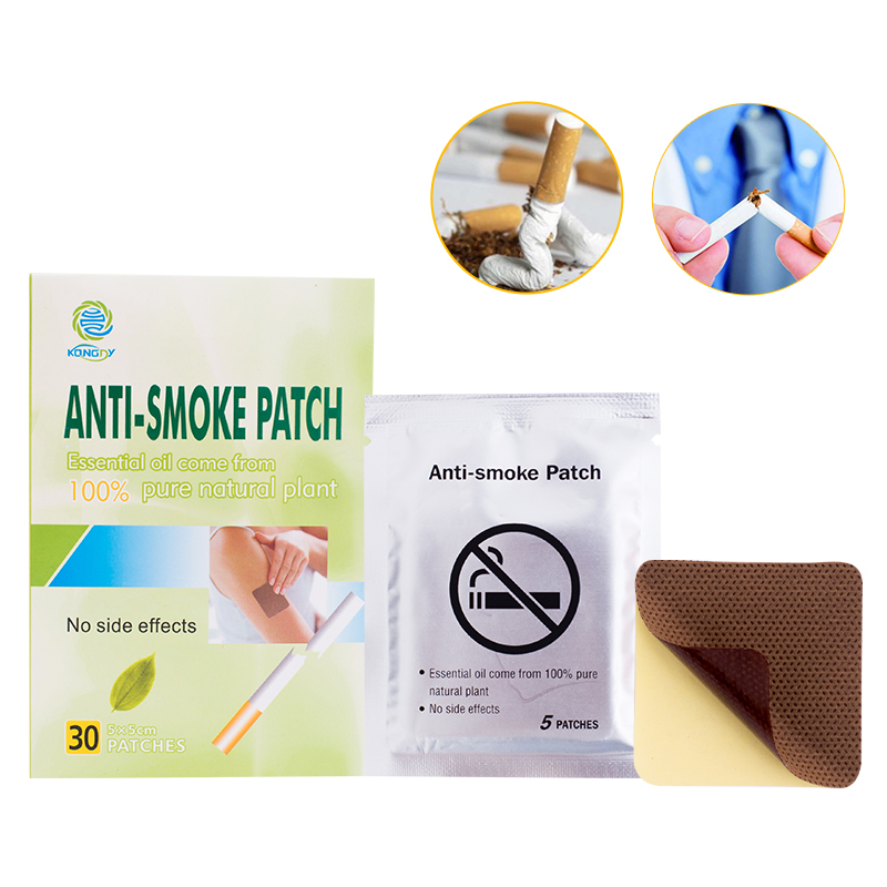 KONGDY Anti Smoke Patch 100% Natural Ingredient 30 Pcs/Box Smoking Cessation Pad Natural Herbal to Give Up Cigarette Plaster 1