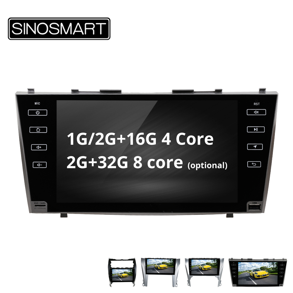 SINOSMART 4 Core 8 Core CPU 2G RAM Android 8 1 Car Radio GPS Navigation Player