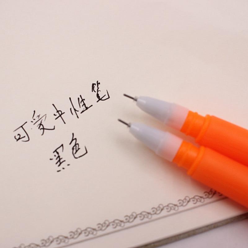 Caneta Refil Preto Neutro Caneta Papelaria Coreano