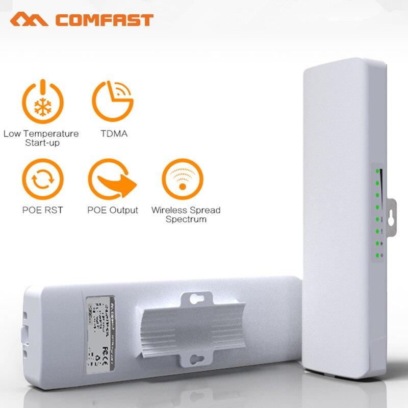 COMFAST 300 Mbps Haute Puissance Extérieure Sans Fil CPE/wifi répéteur/wifi routeur/AP pont POE antenne pour wi-fi Récepteur/émetteur