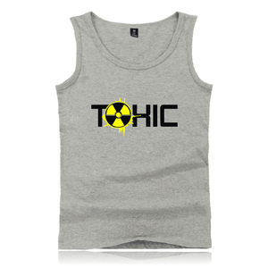 TOXIC Fashion Pullover Tank Tops Women/Men Cotton Fashion hot Streetwear Sleeveless Vest 4XL