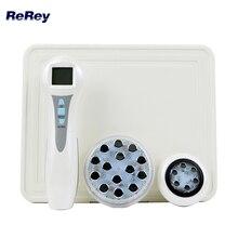 Częstotliwość radiowa masażer do twarzy RF EMS mezoterapia elektroporacja LED Photon odmładzanie twarzy mezoporacja urządzenie kosmetyczne