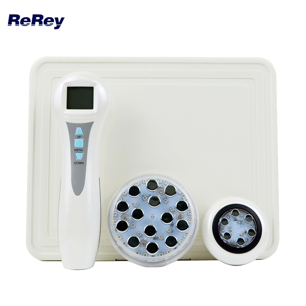 Radio Frequency Face Body Massager RF EMS Mesotherapy Elektroporation LED Photon Föryngring Facial Mesoporation Beauty Machine