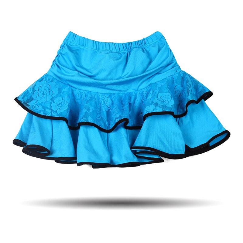 lace children professional latin dance dress for girls kids patterns ballroom skirt costumes tango  salsa dancing skirts fringe