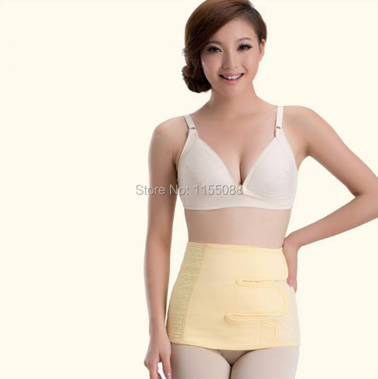 Women Postpartum Abdomen Belt Maternity Binding Waist Cincher Pregnant Belly Band Body Shaper