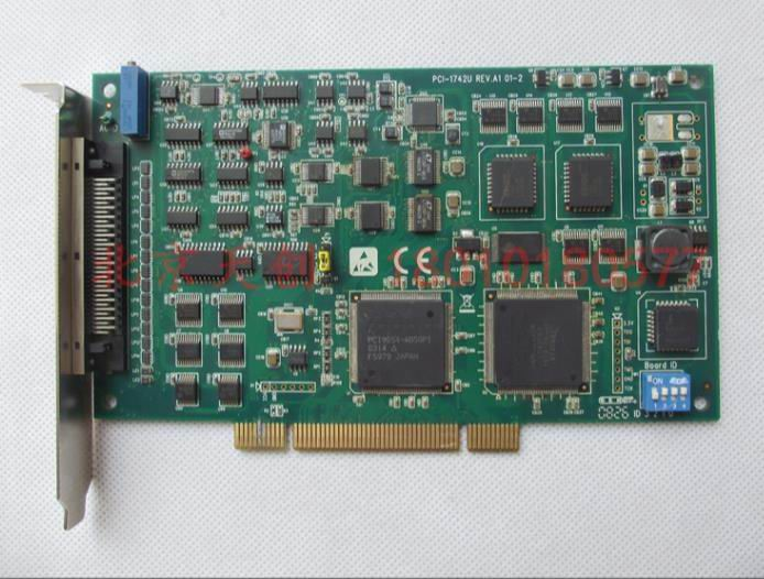 1 year warranty  New original  has passed the test    PCI-1742U A1 16-bit 1MS/sPCI Multifunction Data Acquisition Card1 year warranty  New original  has passed the test    PCI-1742U A1 16-bit 1MS/sPCI Multifunction Data Acquisition Card