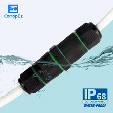 3pin IP68 Waterproof Connector for Wire CA8-PG9-3P Electrical Sealed Retardant Electricos Para Cable Conectors