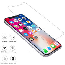 ФОТО 9h ultra-thin tempered glass for iphone 8 glass 7 6 6s plus protective film for iphone x screen protector  mobile phone film