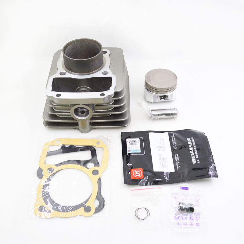 High Quality Motorcycle Cylinder Kit For Lifan LF155 CG150 CG 150 LF 155 Engine Spare Parts motorcycle accessories new right cylinder body motorcycle engine parts for lifan 140cc engine cylinder body engine parts gt 725