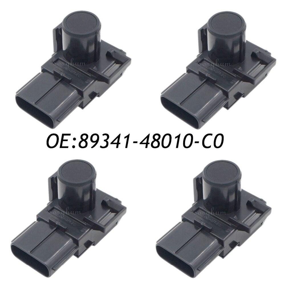 4 pièces PDC De Recul Capteur D'aide Au Stationnement pour Toyota Lexus 89341-48010 89341-48010-C0