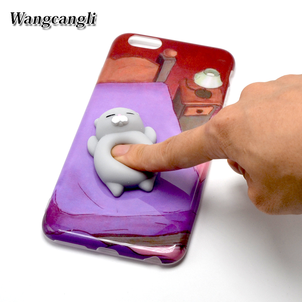 Iphone 6 squishy case - 20pcs Sleep Bear Girl Squishy Phone Case Cases For Iphone 6 7 7 Plus Relieve Pressure Kneading Cute Cover For Iphone 6s Shell On Aliexpress Com Alibaba