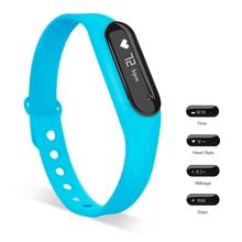 Yuntab синий C6 браслет Сенсорный экран 0.69 дюймов Bluetooth 4.0 водонепроницаемый смарт watchwearable Sports Tracker