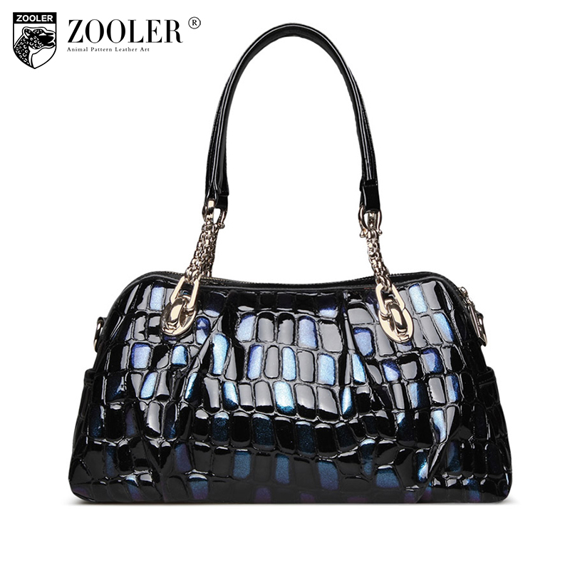 ZOOLER Brand genuine leather bag for women leather bag female women s handbags fashion shoulder bags