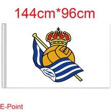 1 stück 144 cm * 96 cm größe (La Liga) Echt + + de Futbol Fliegen flagge C