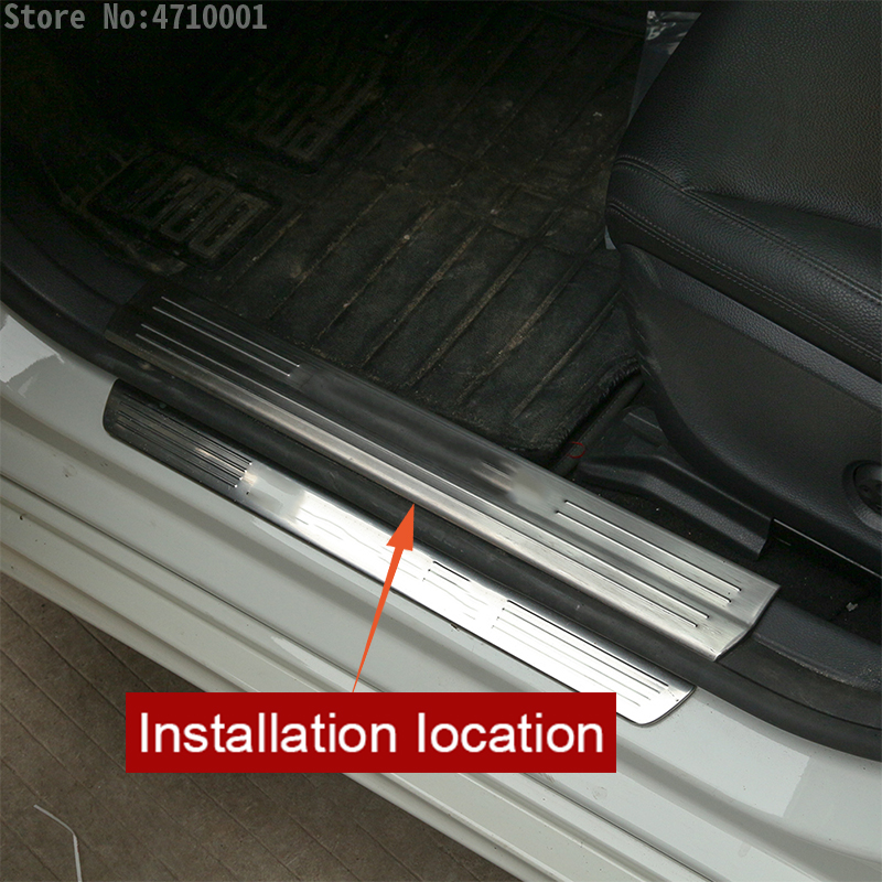 Front/&rear Door Inner Storage Box 4pcs For Mercedes Benz A-Class W176  2012-2016