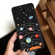 TOO Soft Silicone Case For Samsung J7 2017 Coque Cute Cartoon 3D Patterned Cover Galaxy Pro J730 Fundas