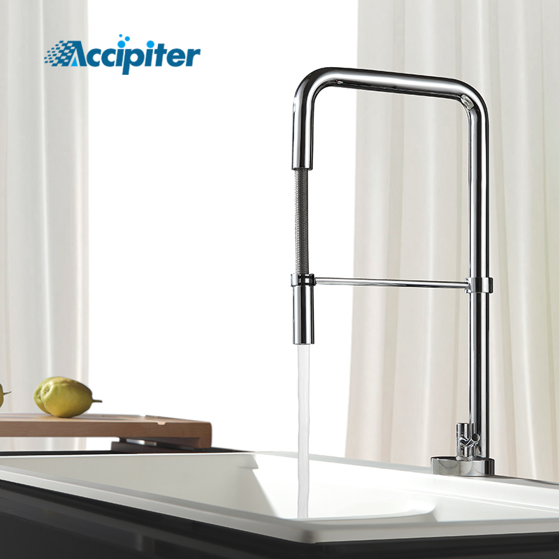 Pull Out Kitchen Faucet 360 Swivel Kitchen Tap Chrome Single Handle Sink Mixer Tap Hot And Cold Water Torneira