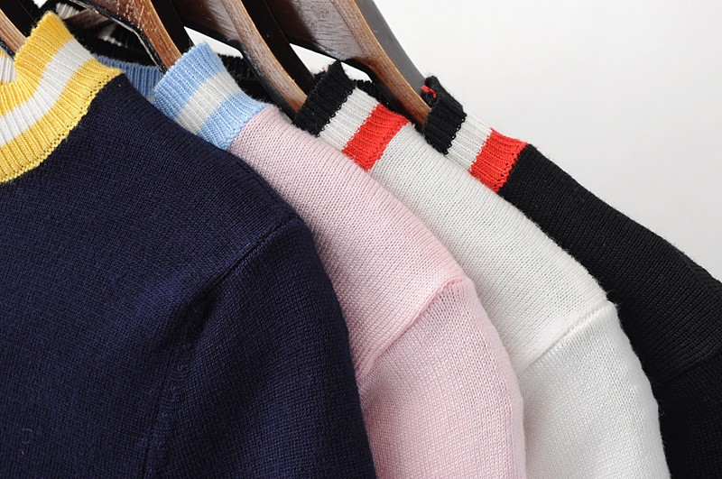 HTB1uwXeLXXXXXXvapXXq6xXFXXX9 - Women Knitted Crop Tops O-neck Short Sleeve Sweaters Sexy Streetwear PTC 245