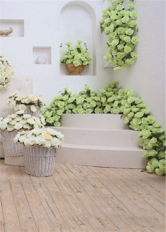 flower stair photo background vinyl 5x7ft or 3x5ft stor photo props backdrops wedding piano backdrops wooden floor wedding stor photo props background vinyl 5x7ft or 3x5ft
