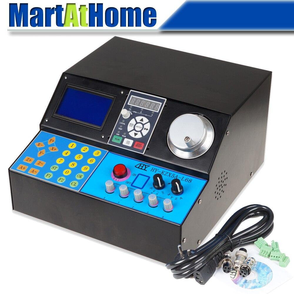 4-teljelise mootoriga juhi kontrolleri kast 5A TB6600 LCD muunduriga - Tööpingid ja tarvikud - Foto 1
