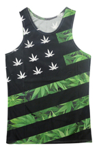 2017 new arrival men's vests 3D printed tanks creative fashion novelty grass printing Outwear size s-5xl