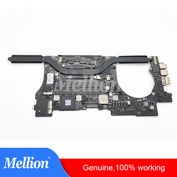 Genuine Used A1398 Laptop Motherboard A1398 For MacBook Pro 15'' 2.2GHz Core i7 16G 256G SSD Mid 2015 Notebook Logic Board