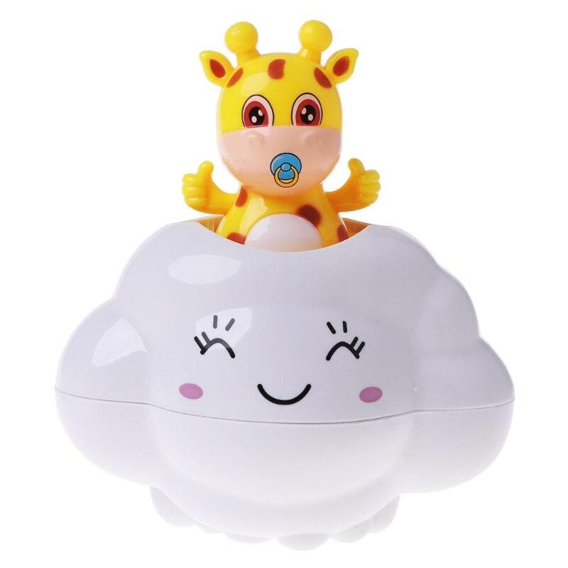 Baby Kid Bath Toys Bathroom Play Water Clouds Deer Shower Beach Educational Toy JUN5-B
