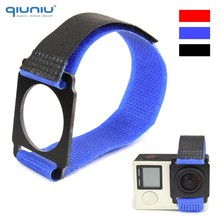 QIUNIU 3 Colors Fastener Strap Tie Wrap Strap for FPV Gimbal Mount PTZ For GoPro Hero 4 3+ 3 Camera For GoPro Accessories(China)
