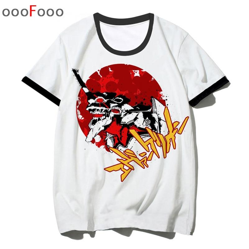 Evangelion ATTACK ANGEL T Shirt Man Tshirt EVA O-Neck Top Tee Shirt Summer Cartoon For Men Male/women T-shirt Hip Hop