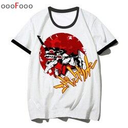 Evangelion atak anioł t koszula mężczyzna tshirt EVA top z okrągłym dekoltem koszulka letnia kreskówka dla mężczyzn mężczyzna/kobieta koszulka hip hop 1