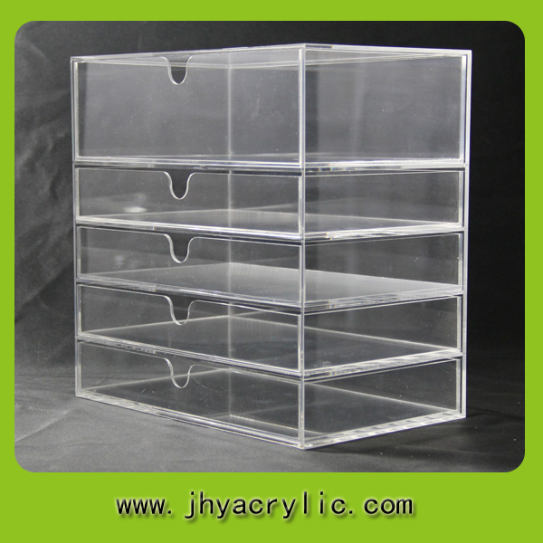 Simple Style Acrylic Drawer Storage Boxes And 5 Layer // Plexiglass Storage  Boxes