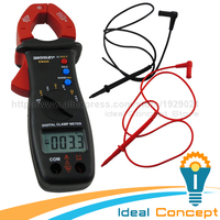 Clamp Meter DC AC Voltage Current Resistance Diode Multimeter 33mm Jaw Opening