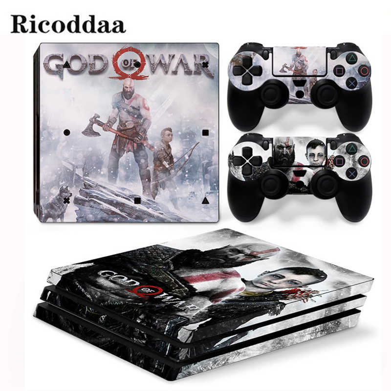 Body Skin For PS4 Pro Console And Controllers Protective Skin Sticker For Sony Playstation 4 Pro Game Accessory