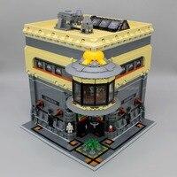 IN STOCK Lepin 15015 5003Pcs City Street The Dinosaur Museum Model Building Kits Blocks Bricks lepin Compatible DIYToys Gift
