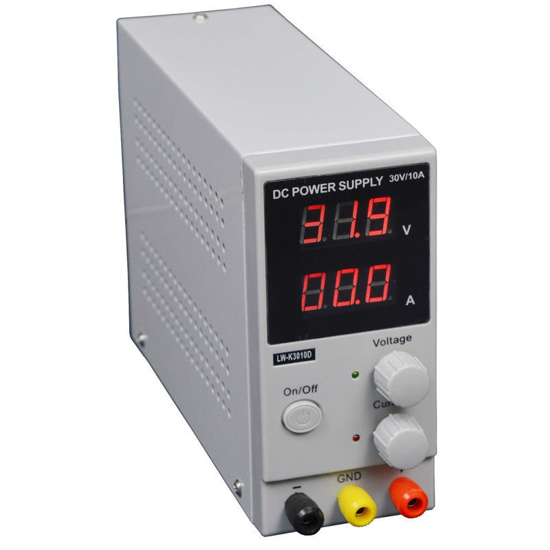 K3010D 30V 10A DC LCD Digital Power Supply Mini Switching Regulated Adjustable High Quality cps 3010ii 0 30v 0 10a low power digital adjustable dc power supply cps3010 switching power supply