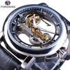 Forsining Men S Mechanical Watches With Automatic Winding Steampunk Watch Waterproof Design Mens Watches Top Brand