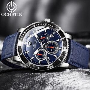 Топ бренд Роскошные Кварцевые часы мужские спортивные часы военные армейские мужские наручные часы ochtin relogio masculino