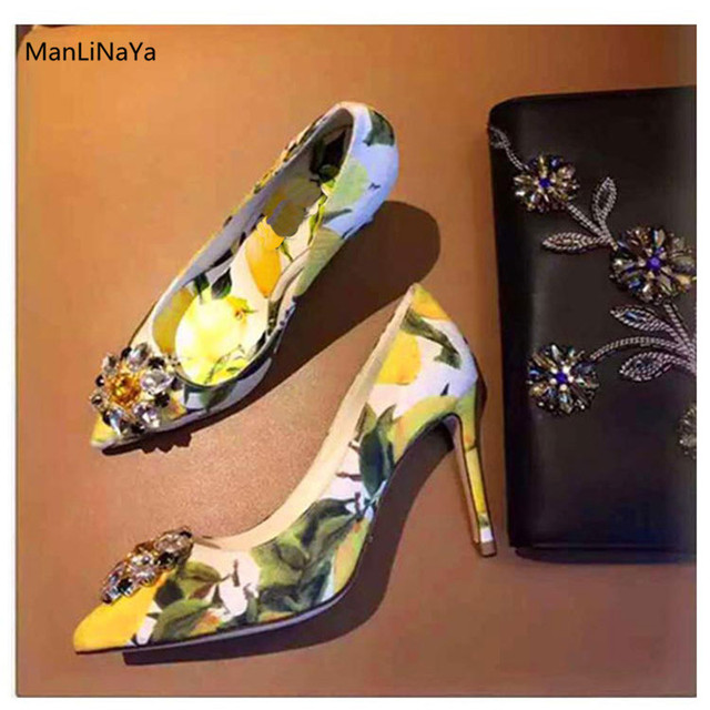 Color Nupcial Novia de zapatos Satén Hebilla Flores mujer