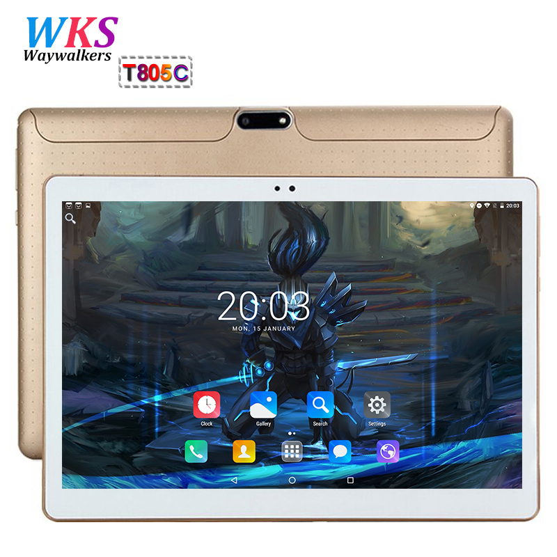 Free shiping 10 inch 3G/4G LTE tablet pc octa core android 7.0 RAM 4GB ROM 64GB Dual SIM WIFI Bluetooth Smart tablets pc 10.1 10 смартфон asus zenfone 4 ze554kl 4gb 64gb lte 5 5 dual sim black