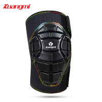 Kuangmi 1 piece Kids Youth Knee Pads Crashproof Leg Knee Sleeve Protector Gear for Rollerblade Roller Skates Cycling Boys Girls
