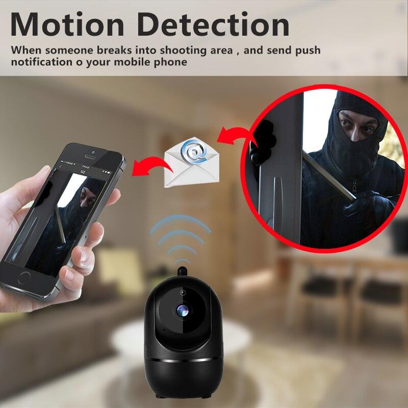 1080P Беспроводная IP камера, облачная Wifi камера, Умная автоматическая камера слежения, безопасность человека дома, CCTV сеть видеонаблюдения