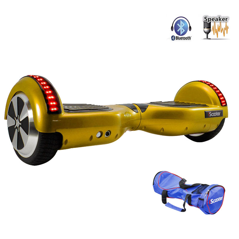 Wheel Walk Boards : Ul hoverboard inch two wheels electric scooter