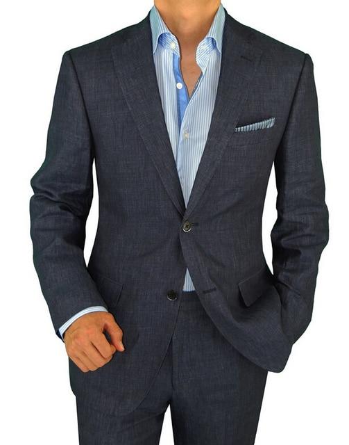 51e8d28af6037 Men   s chaqueta de traje de dos botones hombre moderno es adecuado para la  boda