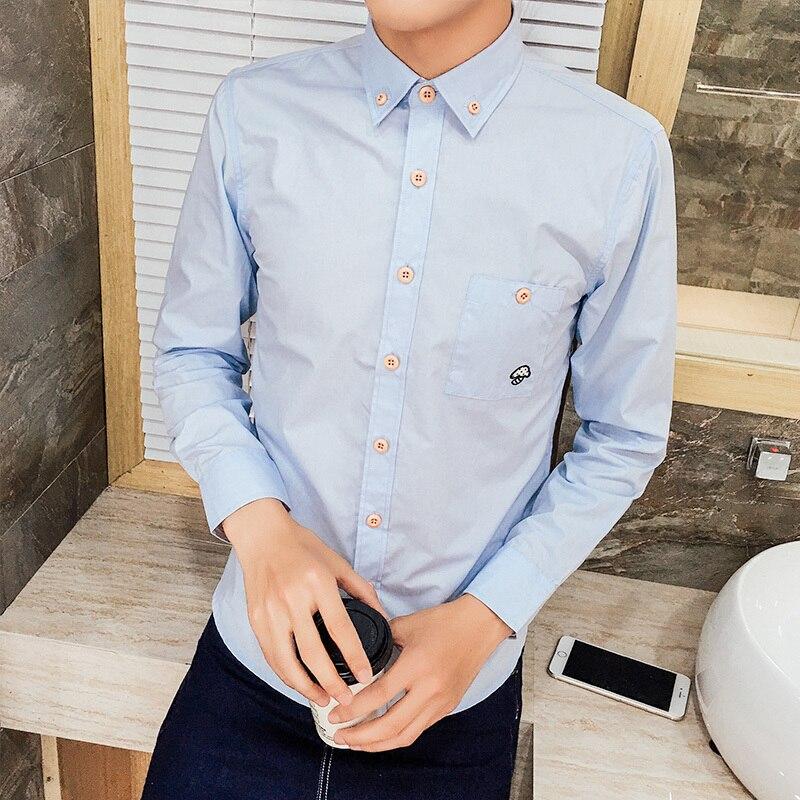 57fdc86ba808e6 Skup Tanie Olid Koszule Męskie Sukienka Formalne Koszule Wzory Camisa  Społecznej Masculina Mężczyźni Biznes Koszula 5XL Ceny.