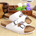 couple cork men slippers slippers slip summer beach sandals
