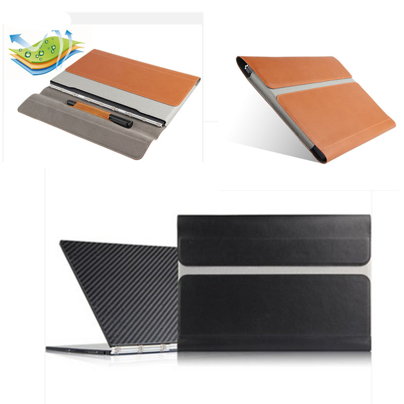 Newest High Quality Sleeve Pouch Bag Cover Case for lenovo yoga book yogabook 10.1'' tablet PU Leather protective cover for lenovo yoga book leather cases in one tablet package 10 1 inch sleeve high quality classic pu leather book case cover stylus