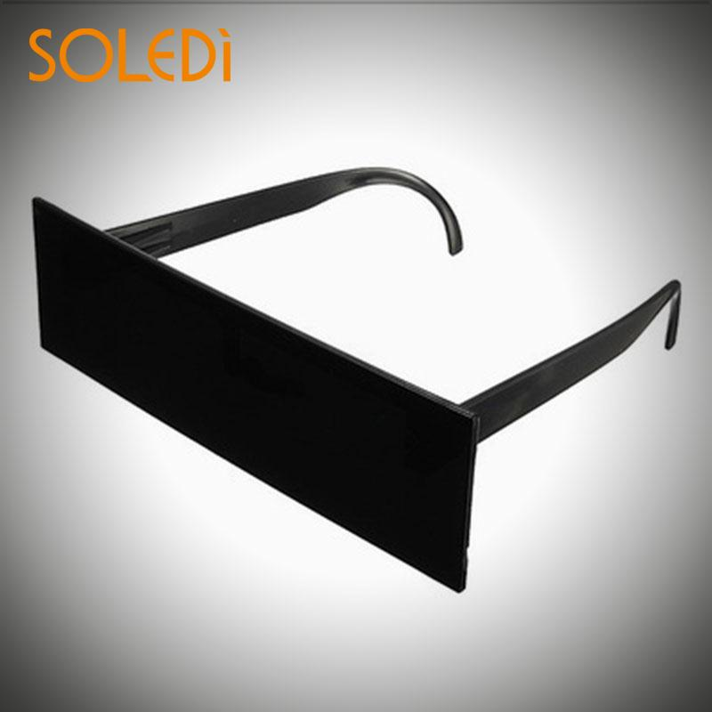 1pcs Funny Party Glasses Censor Bar Sunglasses Black Bar Eye Covered Sunglasses Bar Party Sunglasses For Party Cosplay Decor